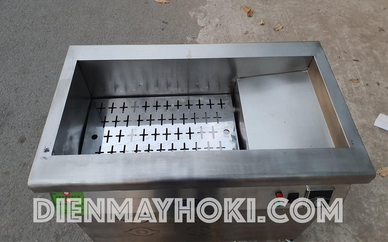 bếp chiên tách dầu dùng điện HOKI